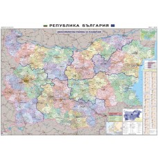 Bulgaria statistical regions map