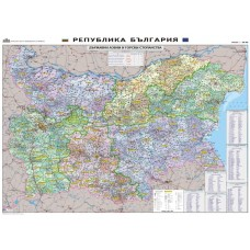 Bulgaria - Forestry map