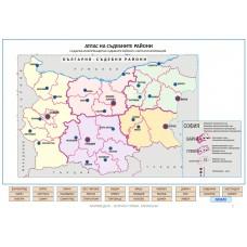 Digital  atlas of judicial districts