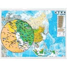 Азия - политическа карта