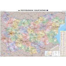 Bulgaria - administrative map