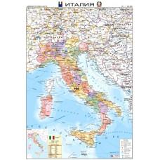 Карта на Италия