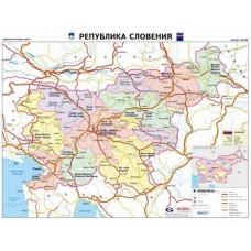 Карта на Словения