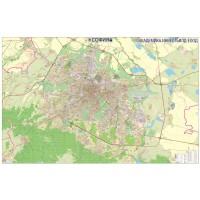 NEW! MAPS PRINTED ON VINYL