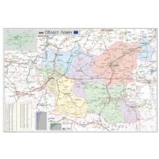 Lovech region map