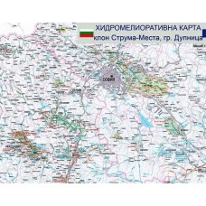 Hydromeliorative map