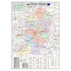 Shumen region map