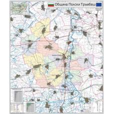 Polski Trambesh municipality map