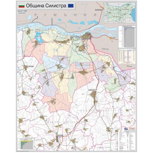 Karta Na Obshina Silistra