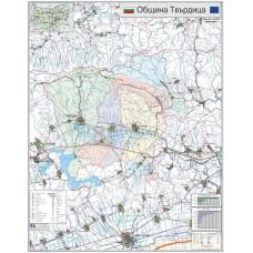 Tvarditsa municipality map
