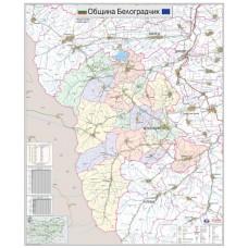 Belogradchik municipality map