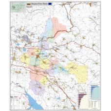 Elin Pelin municipality map