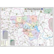 Madzharovo municipality map