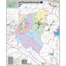 Velingrad municipality map