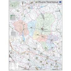 Panagyurishte municipality map
