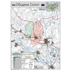 Sopot municipality map