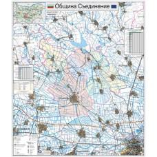 Saedinenie municipality map