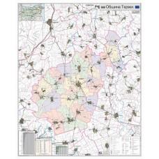 Tervel municipality map